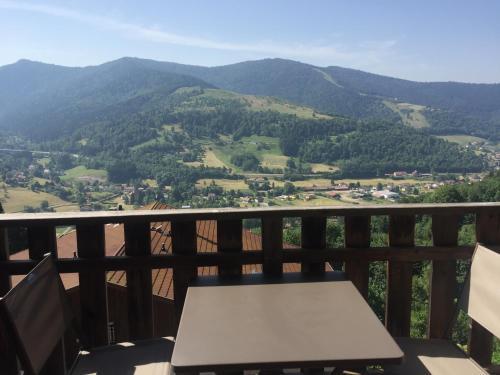 Charmant T3 Bussang, Vosges, vue imprenable - Apartment - Bussang