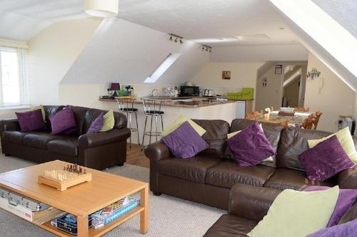 Sand Dunes Penthouse Apartment, Perranporth, Cornwall