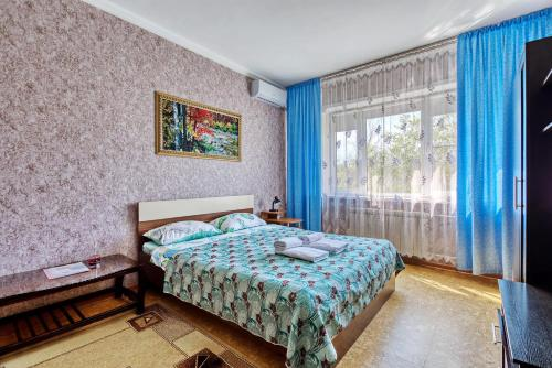 Apartment near the President's Park. Orbita-2 - Almaty