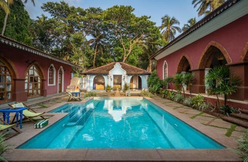 Morgado Vaddo Velha, Goa, India.