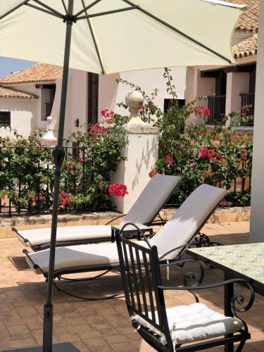 Patios en Ático Las Casas de la Judería de Córdoba 38