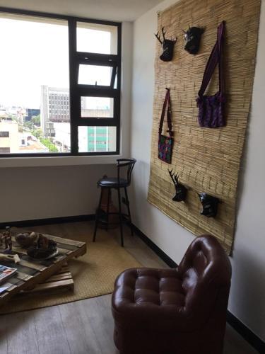 Top floor apartament in Edificio Lubia, Historic City Centre of Guatemala værelse billeder