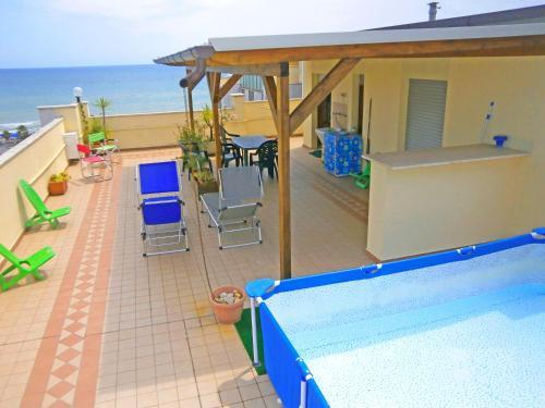. Casa Bella ATTICO FRONTE MARE con PISCINA - SEE FRONT ATTIC & POOL