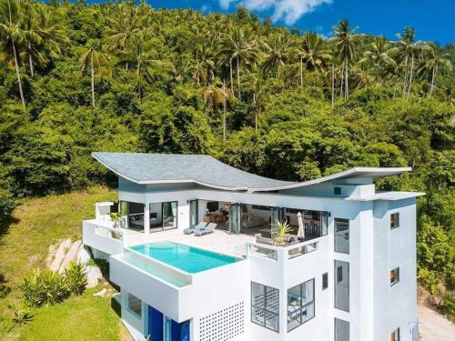 Luxury 4 bedrooms villa with sea view, Koh Samui! Luxury 4 bedrooms villa with sea view, Koh Samui!