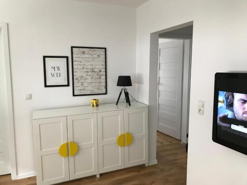 Yellow Clock Apartment