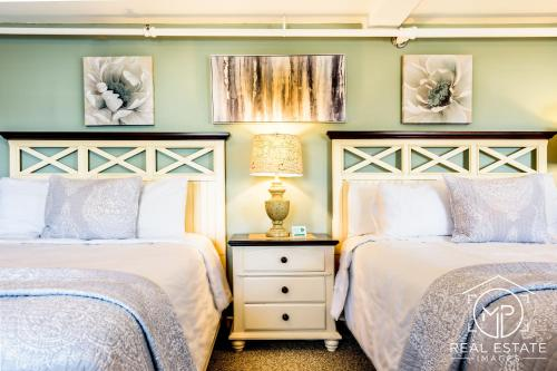 Room 3 - Lilac Room - Two Queen Beds