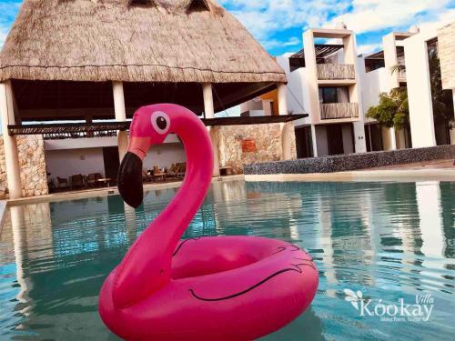 . Chic Mexican Style Villa Kookay, Beach Club & Pool