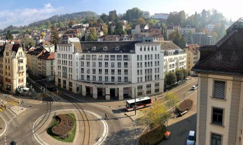 Hotel am Spisertor, Hotel in St. Gallen