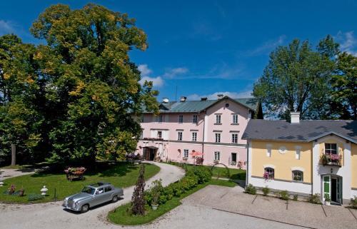Kasteel-overnachting met je hond in Schlosshotel Zamek Zdikov - Zdíkov