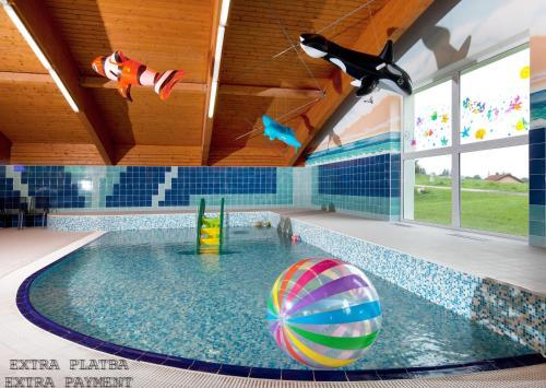 Lipno Wellness - Frymburk Hotel Private Family Room