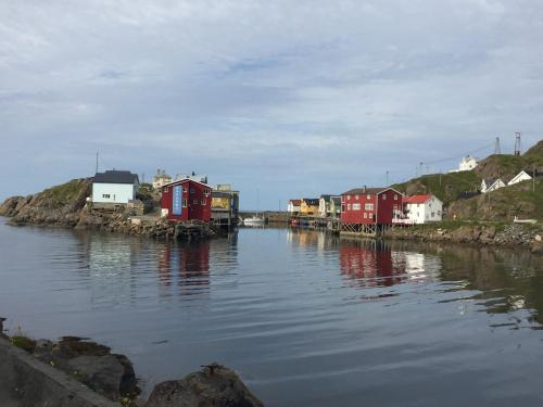 . Rooms in the coastal fishing village Nyksund