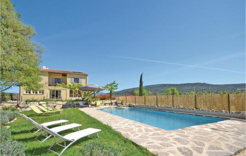 Apartment St Marcellin L Vaison 12 with Outdoor Swimmingpool