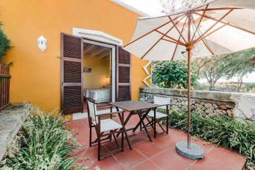 Doppel-/Zweibettzimmer mit eigener Terrasse Hotel Rural Sant Ignasi 26