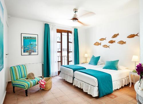 Habitación Doble Económica - 2 camas La Fructuosa 5