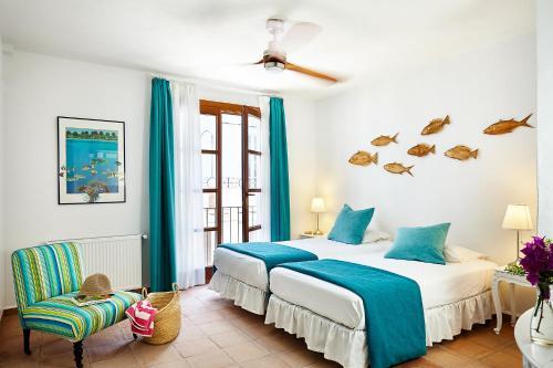 Habitación Doble Económica - 2 camas La Fructuosa 2