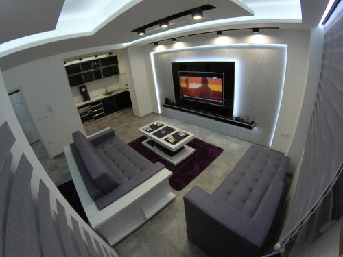 . Grey apartment
