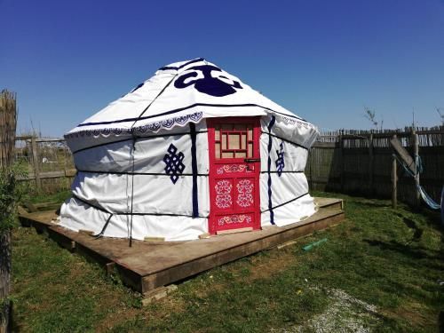 Yellow Hammer Yurt