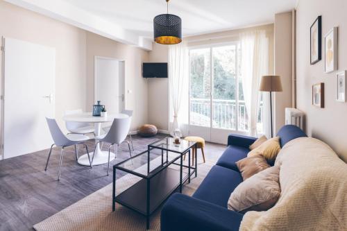 SejourPoitiers ★ Appartement lumineux ★ 1 chambre séparée ★ 300m de la gare et accès direct au coeur historique - Location saisonnière - Poitiers