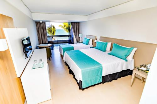 Luxury Double with Sea view (2 Adults + 1 Child) - All Inclusive Premium