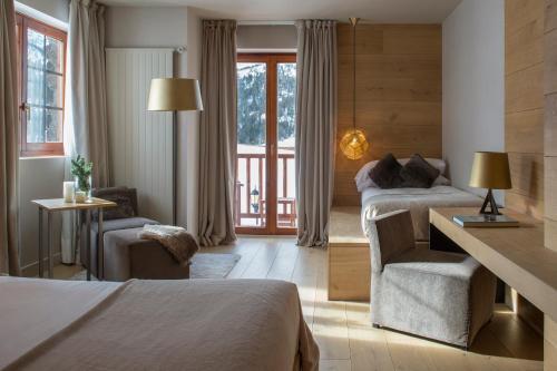 Habitación Familiar Superior Grau Roig Andorra Boutique Hotel & Spa 1