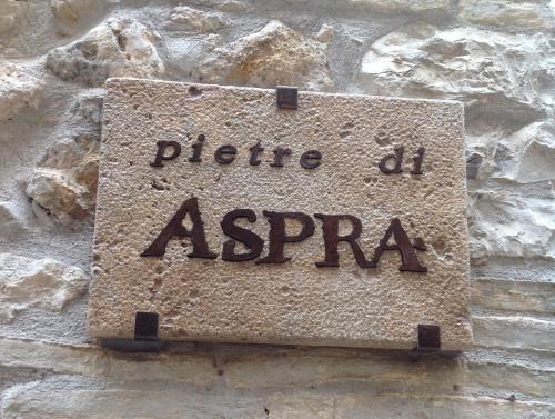 . pietre di ASPRA