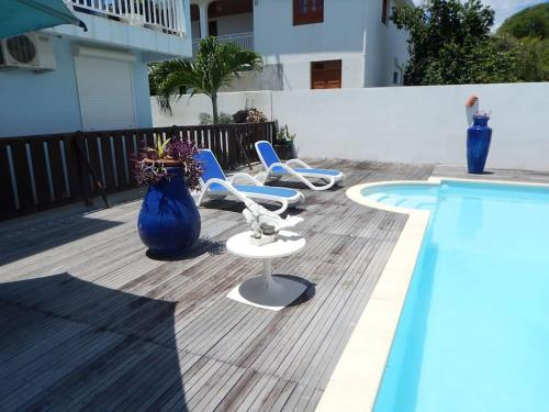 BED & BREAKFAST - 6 SUITES - PISCINE ET PLAGE POINTE FAULA