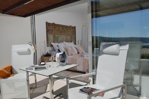 Habitación Doble Premium con vistas al mar Boutique Hotel Spa Calma Blanca 10