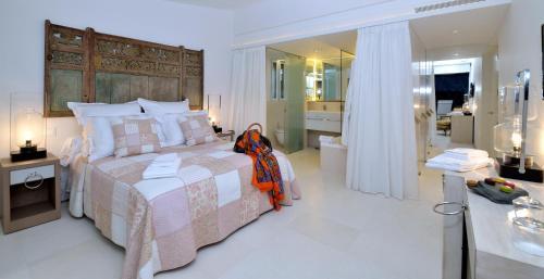 Habitación Doble Premium con vistas al mar Boutique Hotel Spa Calma Blanca 8