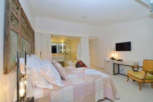 Habitación Doble Premium con vistas al mar Boutique Hotel Spa Calma Blanca 13