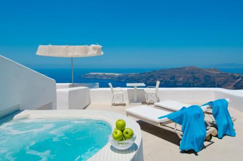. White Santorini