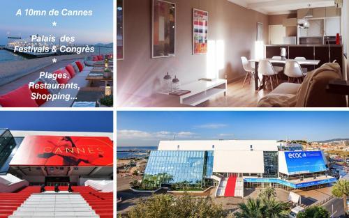 Trois pièces à 10 min de la mer et de Cannes - Location saisonnière - La Roquette-sur-Siagne