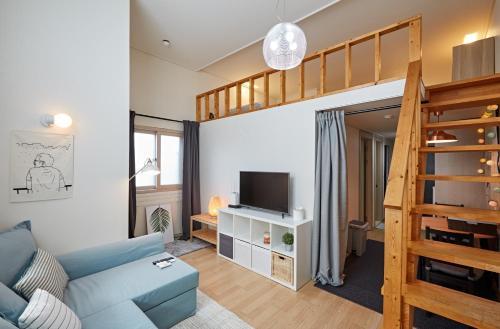 . Seoul Duplex Apartment