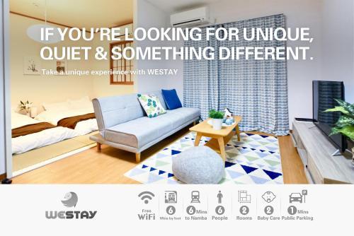 Westay Designers House/6 mins to Shinsaibashi201