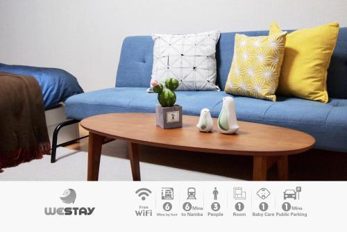 Westay Designers House/6 mins to Shinsaibashi202