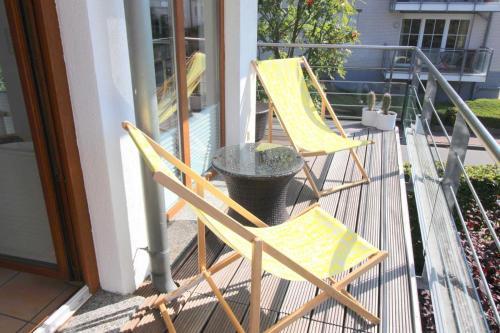 Hotel-overnachting met je hond in Appartementvermittlung Mehr als Meer Objekt 21 - Timmendorfer Strand