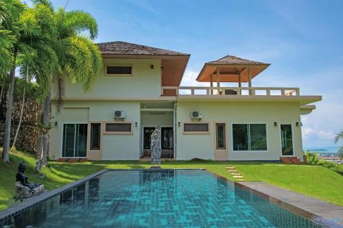 Luxurious ocean view villa with Private Pool and Jacuzzi Luxurious ocean view villa with Private Pool and Jacuzzi