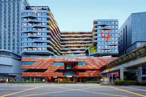 . lyf Funan Singapore by Ascott (SG Clean, Staycation Approved)