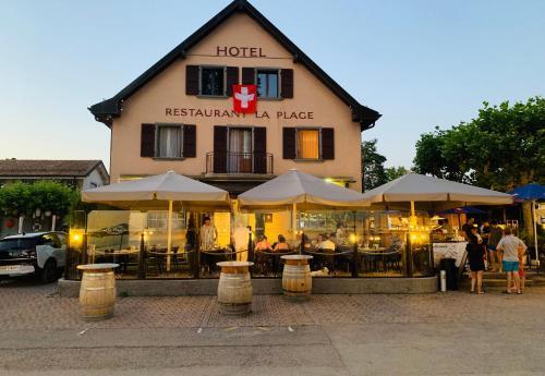 Hôtel Restaurant La Plage, 1028 Preverenges