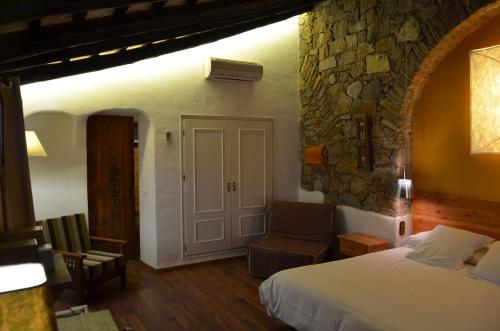 Habitación Doble Superior con terraza Hotel Galena Mas Comangau 50
