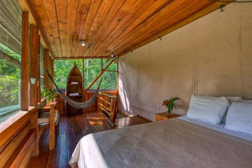 Omega Tours Eco Jungle Lodge In Honduras