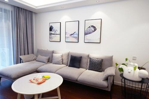 . Liangzhu Culture Village Nordic Style Apartment