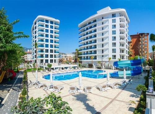 1+1, Elite Marine Residence, center, 7400 Alanya