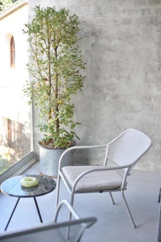 Habitación Doble Superior con terraza Boutique Hotel Can Pico 9