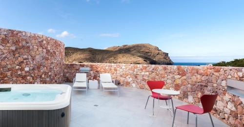 Junior Suite with Sea View Hotel Spa Calagrande Cabo de Gata 29