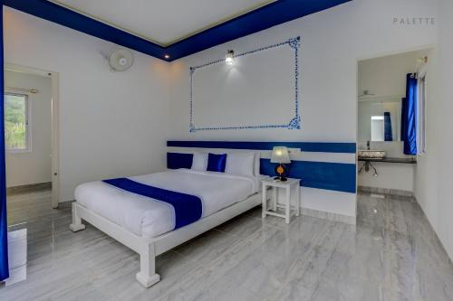 Palette - Sky Blue Orchid room photos