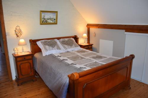 chambre campagnarde du grès rouge avec petit déj - Pension de famille - Beauval