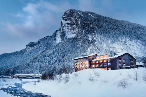 . Hotel Krone in Au