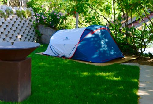 Jeans Tent with Sauna and Pool