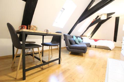 Colmar Historic Center - Cosy Studio PETIT CATHEDRALE 1 - BookingAlsace - Location saisonnière - Colmar