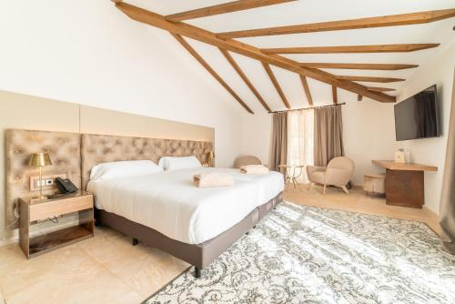Standard Double Room - single occupancy Hotel Creu de Tau Art&Spa-Adults only 4